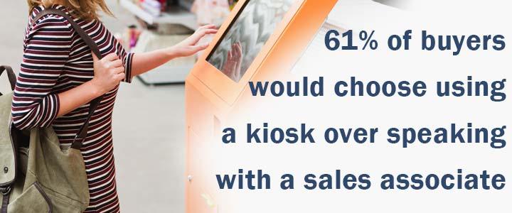 Meet the on demand customer - 61 percent want self service.