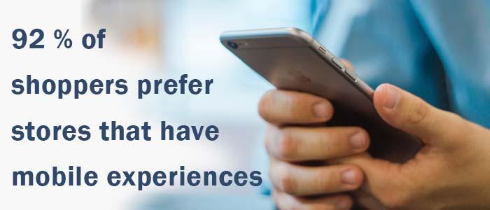 Meet the on demand customer - 92 percent pref mobile.
