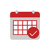 Schedule Service Day Icon for TrashBolt
